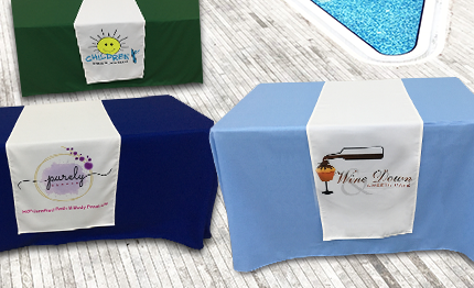 Custom Promotional Table Covers Online