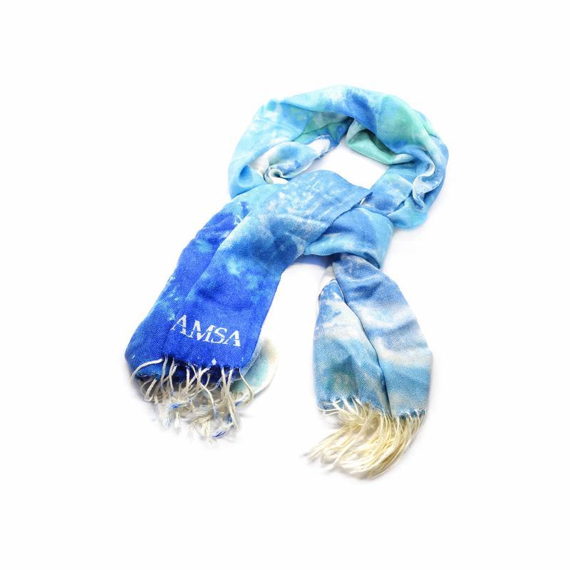 Printed pashmina style scarf.