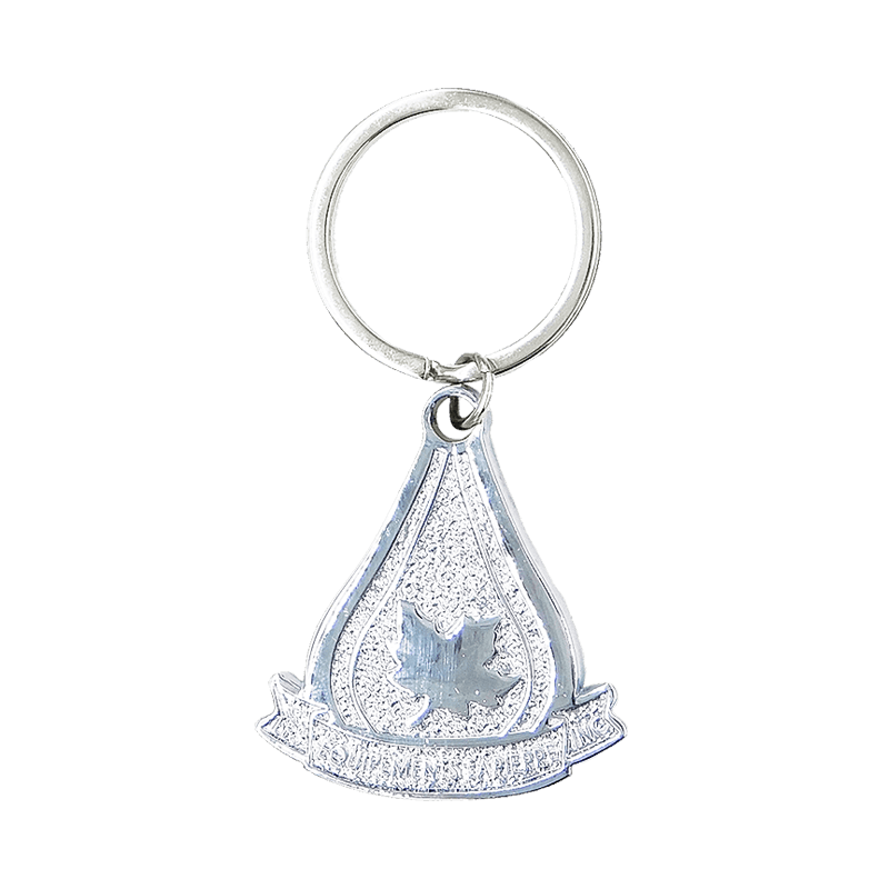 Sample Keyring with Chrome Plating