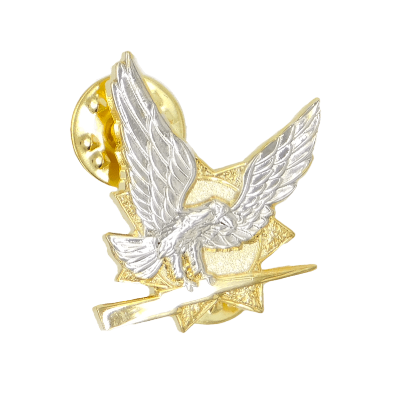 Sample Pin with Dual Plating - Gold and Nickel.