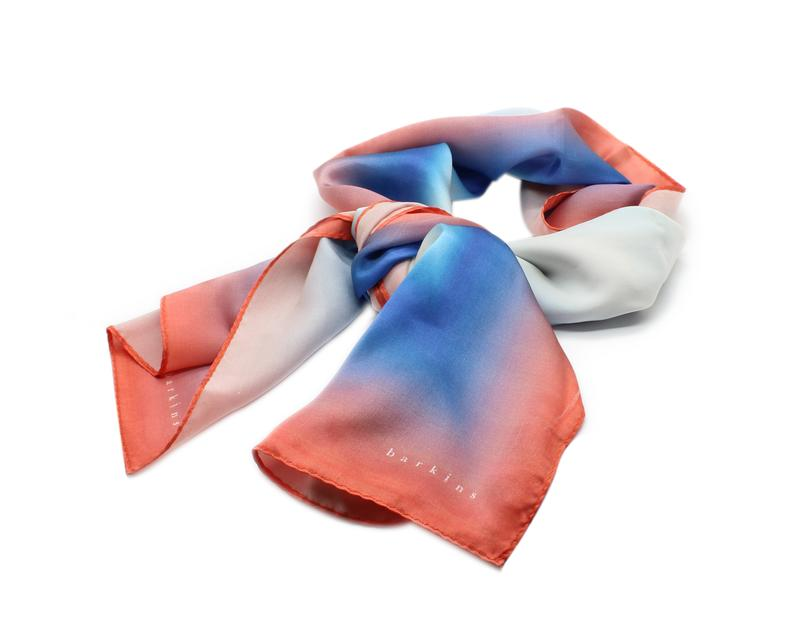 Allows for gradient and intricate designs to be represented on a scarf. Options within a printed scarf are digitally-sublimated, direct to garment (dtg) and screen printed.