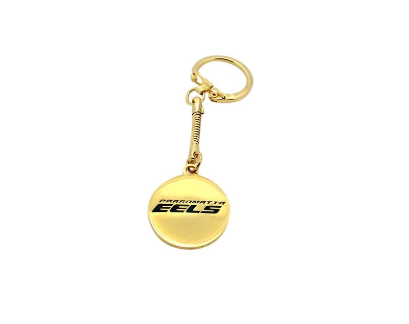 Sample Keyring with Gold Plating