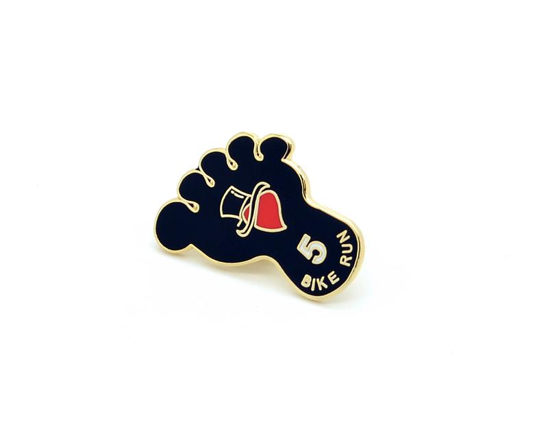 Hard enamel is considered more premium and more durable compared to soft enamel. A Hard Enamel Pin is polished after the enamel colors are filled to the same level as the raised metal and the surface of the lapel pin is flat to the touch.