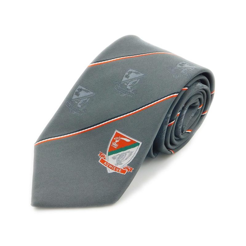Uniform based tie, durable and hard-wearing. Generally used for school, club and uniform ties.