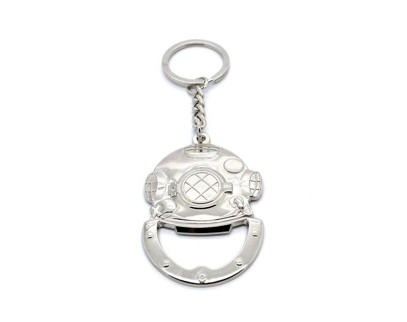 Sample Keyring with Silver Plating