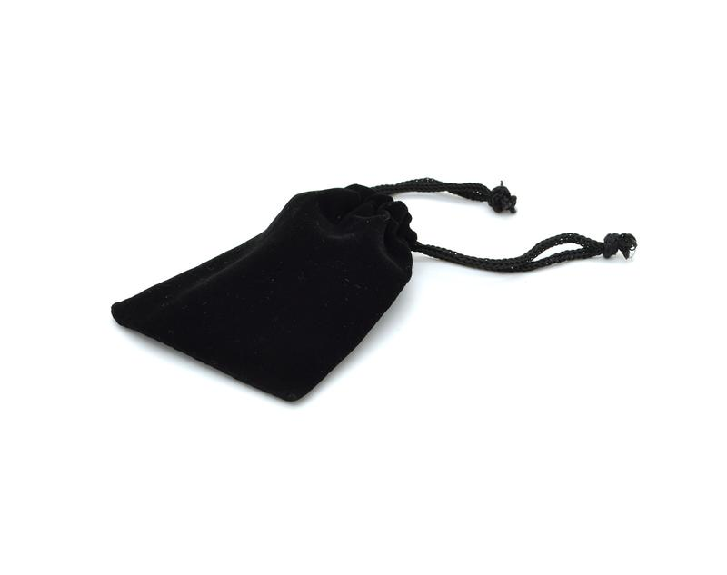 The Velvet Pouch can be customized with gold/silver foil or colour print.